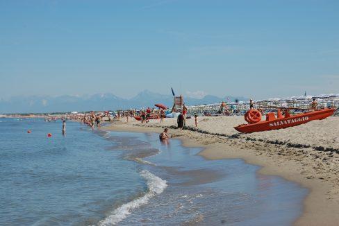 Spiaggia di sabbia Tirrenia