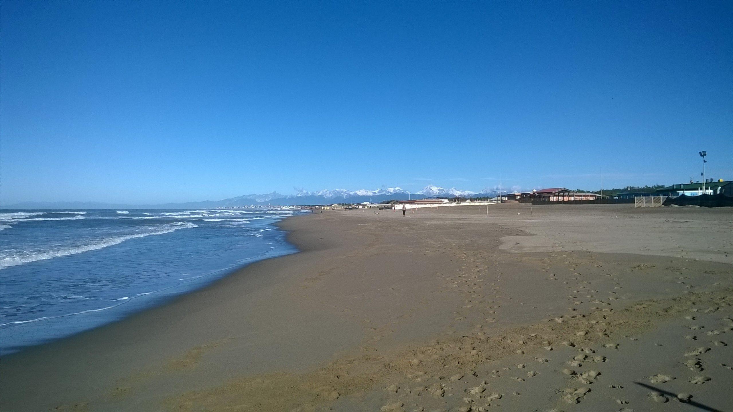 Tirrenia spiaggia